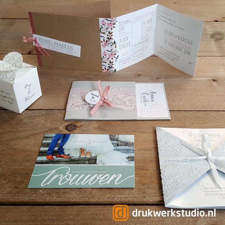trouwkaarten drukwerkstudio
